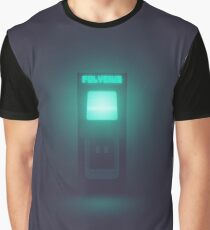 Polybius arcade game cabinet (Dark) Graphic T-Shirt