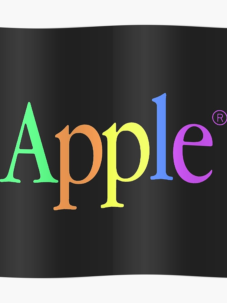 Vintage Apple Aesthetic | Poster
