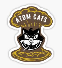 Atom Cats Patch Sticker