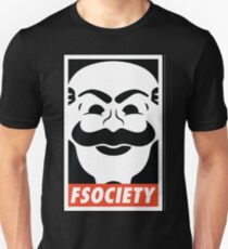 Fsociety Slim Fit T-Shirt