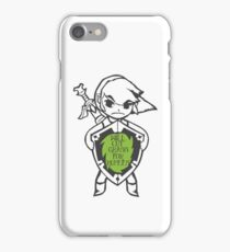 Link 'Will cut grass for rupees' iPhone Case/Skin