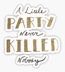 Party Sticker