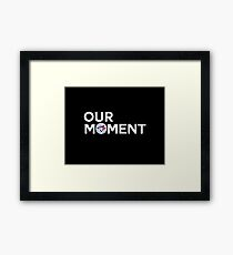 #OurMoment Toronto Blue Jays Framed Print