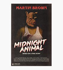 Hotline Miami: Midnight Animal Photographic Print