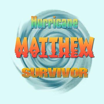 Hurricane Matthew Sunset Survivor  by Lallinda