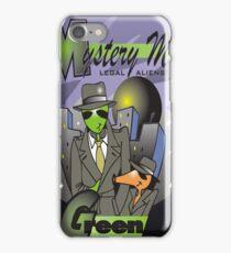legal aliens green on the scene iPhone Case/Skin