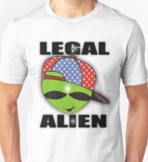 legal aliens green on the scene T-Shirt