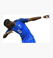 paul pogba Photographic Print