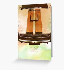 Classics Car XI Greeting Card