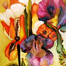 Second Detail, Garden Gone Wild II by Barbara Sparhawk