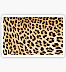 Lodge décor - Cheetah print Sticker