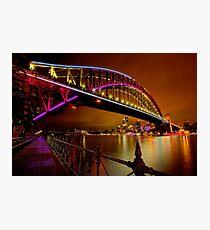 Vivid Sydney Photographic Print
