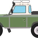 LandRover Defender Series 2 by circuscat