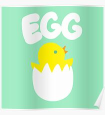 Hatching Chick Poster