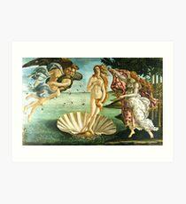 Lámina artística Nacimiento de Botticelli vino