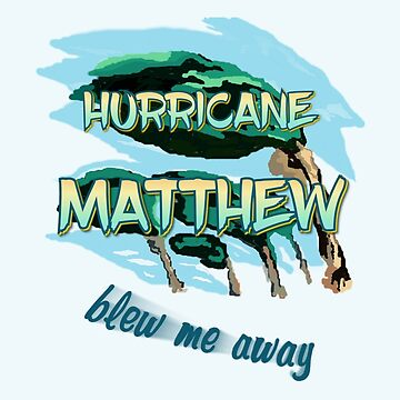Hurricane Matthew Blew Me Away by Lallinda