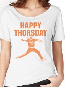 Happy Thorsday Women's Relaxed Fit T-Shirt