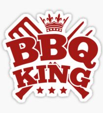 BBQ KING Sticker