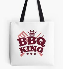 BBQ KING Tote Bag