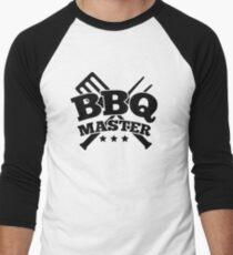 BBQ MASTER Men's Baseball ¾ T-Shirt