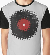 Grunge Vinyl Records Retro Vintage 50's Style Graphic T-Shirt