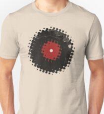 Grunge Vinyl Records Retro Vintage 50's Style Unisex T-Shirt