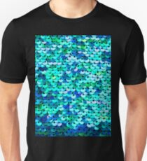 Beautiful sequins texture Unisex T-Shirt