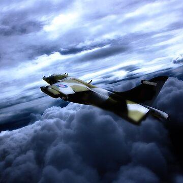 Harrier GR3 by aviationart