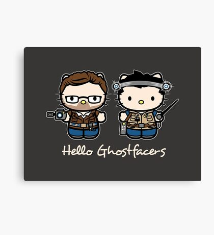 Ghostfacers Canvas Print