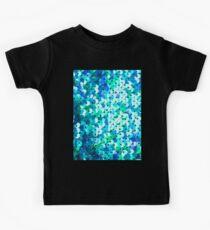 Schöne Pailletten Textur Kinder T-Shirt