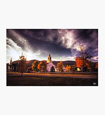 Dusk on the Rumney Town Common Photographic Print
