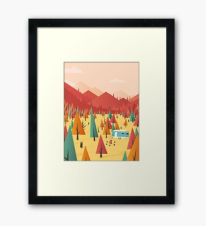 Go out Framed Print