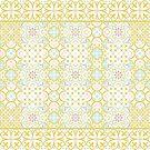 floor tile golden mashup by erdavid