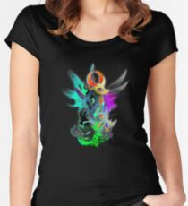 The Changeling Queen and King Women's Fitted Scoop T-Shirt