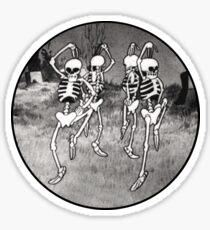 Dance like it's Halloween! Sticker