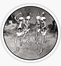 Dance like it's Halloween! Sticker