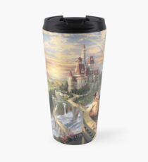 Beauty and the Beast Landscape Travel Mug
