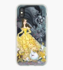 Beauty and the Beast Wallpaper iPhone Case