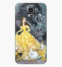 Beauty and the Beast Wallpaper Hülle & Klebefolie für Samsung Galaxy