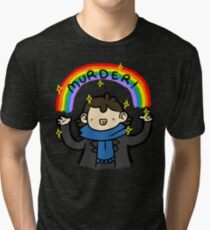 ~MURDER~ Tri-blend T-Shirt