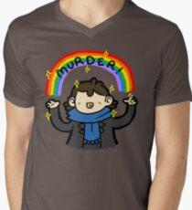 ~MURDER~ Men's V-Neck T-Shirt