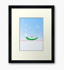 Abstract Smile Framed Print