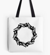 Corona - The Victorious Crown of Champions (Black) Tote Bag