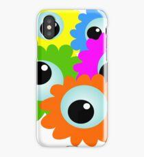 Wacky Cartoon Eyes iPhone Case/Skin