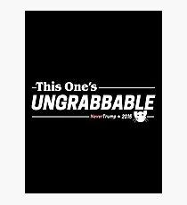 Dieses Ungrabbable: Anti Trumpf Fotodruck