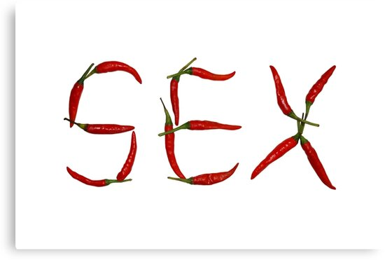 Sex In Chillies by Nicholas Richardson