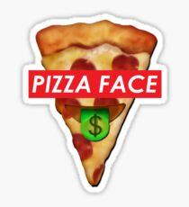 Supreme Pizzaface Eyes Sticker