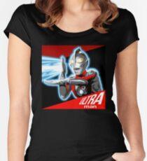 """""""ULTRAMAN"""" Women's Fitted Scoop T-Shirt"""