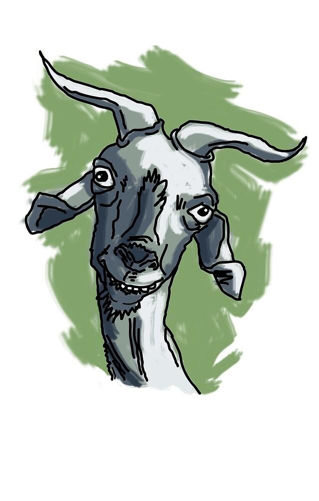 «La cabra Asunción con Fondo» de laramaktub