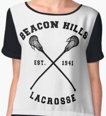 Beacon Hills Lacrosse - Teen Wolf! Women's Chiffon Top